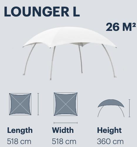 evenementen bedrijfsfeesten communies tenten Lounger L