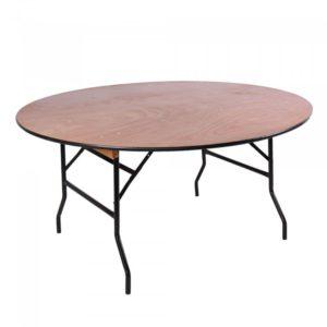 Tafel rond diameter 180 huren open